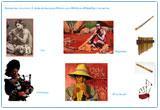 Ressource pour tableau interactif : Les instruments de musique