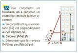 Ressource pour tableau interactif : Réciproque du Théorème de Thalès