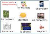Ressource pour tableau interactif : Etude du code - le son s avec c ç