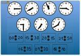 Ressource pour tableau interactif : La mesure du temps