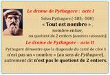 Ressource pour tableau interactif : L'irrationalité de racine de 2 ou le drame de Pythagore