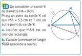 Ressource pour tableau interactif : Angles inscrits, angles au centre (Partie 3)