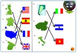 Ressource pour tableau interactif : Countries, nationalities and weather