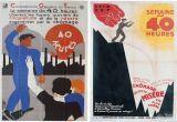 Ressource pour tableau interactif : Etude comparée de 2 affiches de 1936 (semaine de 40 heures)