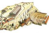 Ressource pour tableau interactif : L'invention du théâtre grec (carte mentale)