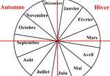 Ressource pour tableau interactif : Les saisons