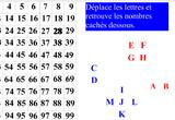 Ressource pour tableau interactif : Tableaux des nombres