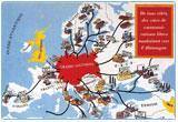 Ressource pour tableau interactif : L'Europe sous domination nazie