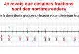Ressource pour tableau interactif : Les fractions - Encadrer une fraction par deux nombres entiers consécutifs