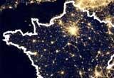Ressource pour tableau interactif : Repérage des foyers de peuplement en France