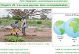 Ressource pour tableau interactif : Les pays pauvres dans la mondialisation